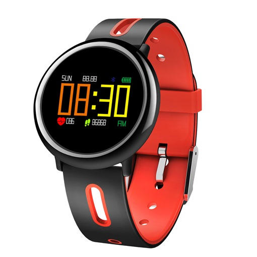 HB08 Smart Color Wristband Heart Rate Blood Pressure Oxygen Monitoring Sports Pedometer Ring Remote Control Camera Intelligent Anti-Lost