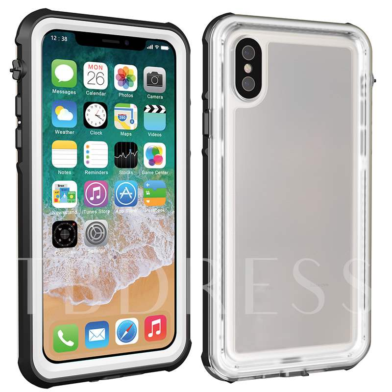 Explosion Models IPhone X IP 68 Waterproof Shell Protective Sleeve