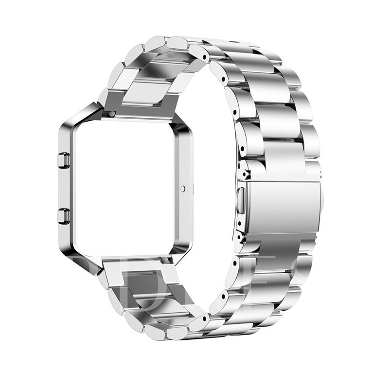 Fitbit Blaze Stainless Steel Chain Steel Belt and Metal Frame