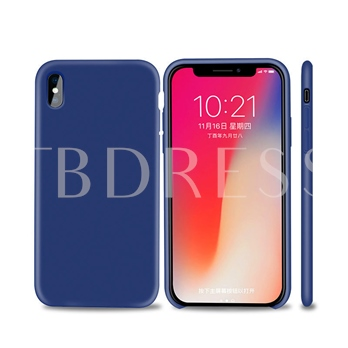 Iphone X Mobile Phone Shell Official Liquid Silicone All-Inclusive