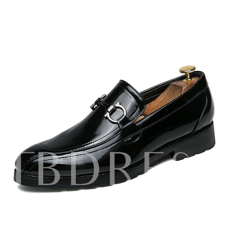 Buy Color Block Block Heel Slip On Casual Shoes for Men, Spring,Summer,Fall, 13214229 for $32.99 in TBDress store