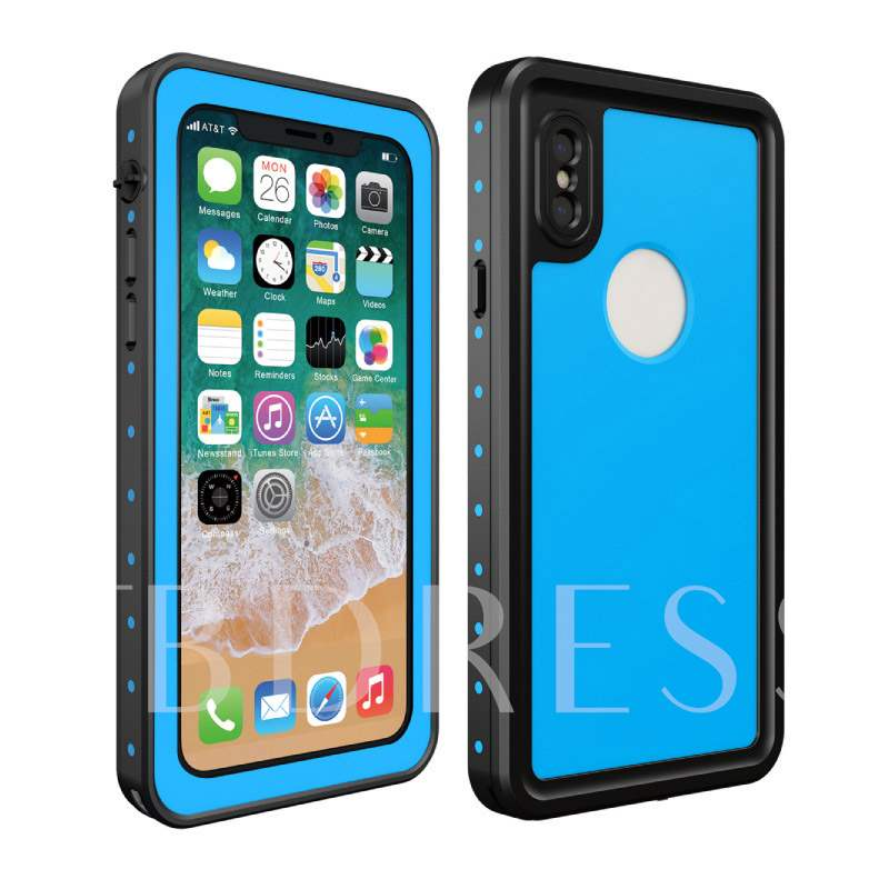 IphoneX Small Dot Waterproof Phone Shell Enhanced Version