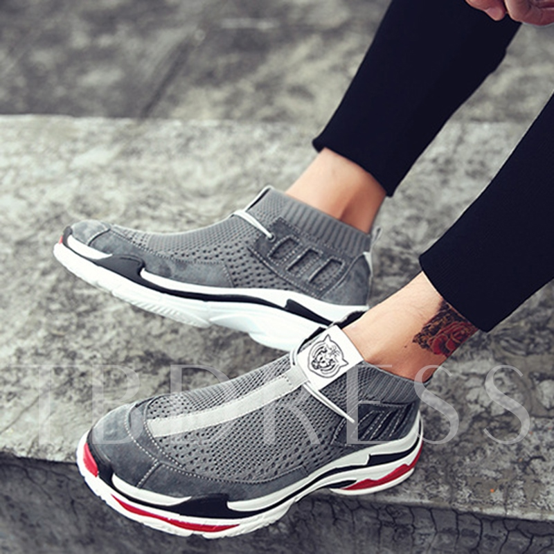 Mesh Breathable Slip On Platform Shoes for Women