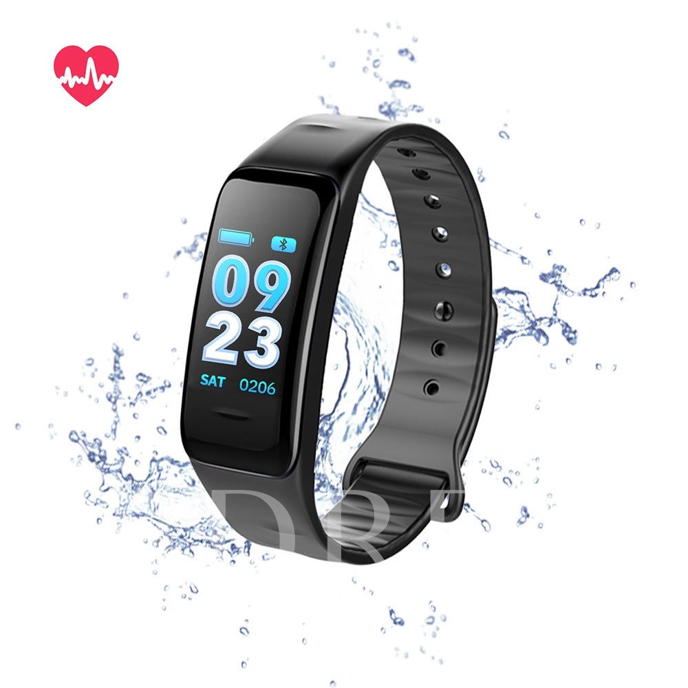 C1s Bluetooth Smart Bracelet Heart Rate and Blood Pressure Monitoring