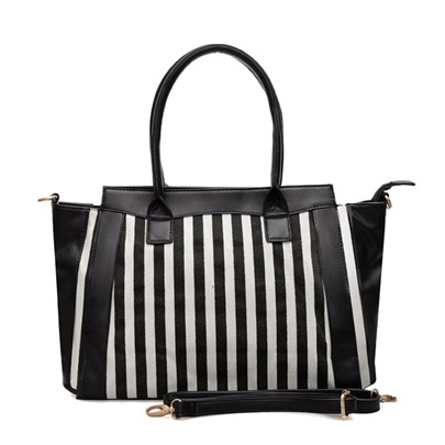 Fashion Stripe Pattern Women Tote Bag