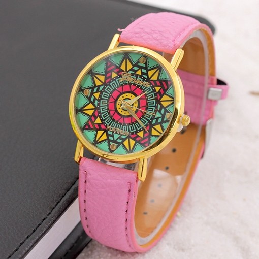 Waterproof Sunflowers Ethnic Watches
