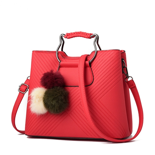 Colorful Plain Polyester Lining Tote Bag