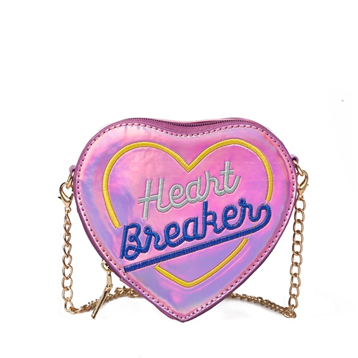 Stylish Heart Shape Women Cross Body Bag