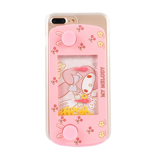 Pink Childlike Cartoon Circle Game iphone7plus Mobile Shell Apple 6s