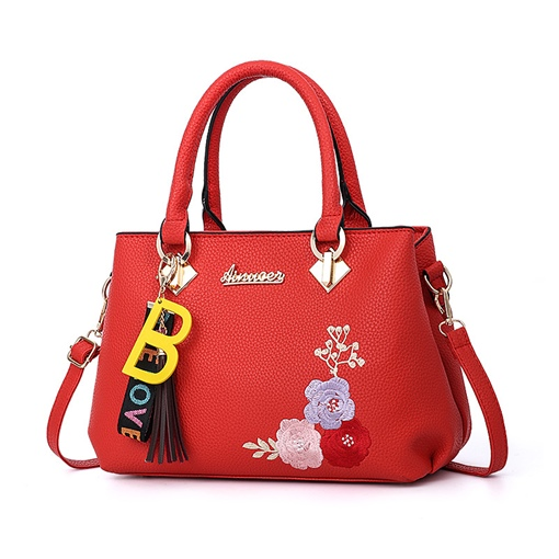 Chinese Style Soft Zipper Tote Bag