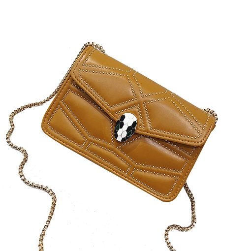 Fashion Solid Color Cross Body Bag