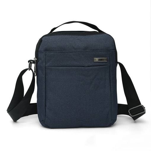 Casual Plain Canvas Men's Backpack