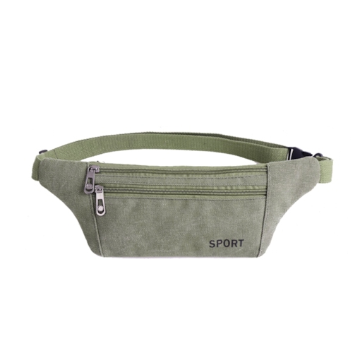 Chic Nylon Zipper Men's Waist pack