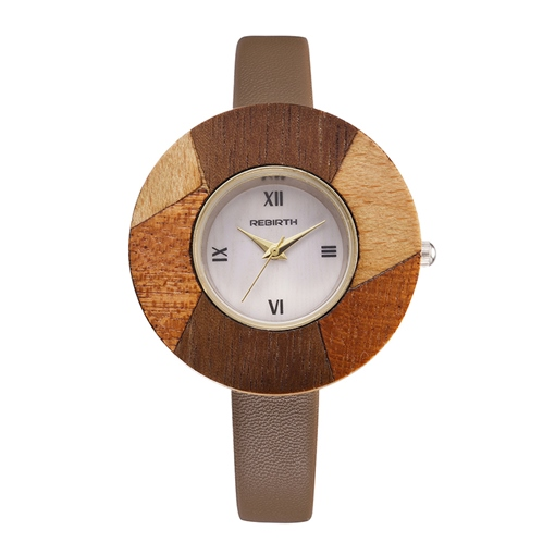 Quartz Wooden Patchwork Watches