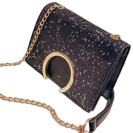 Chic Sequins PU Women Shoulder Bag