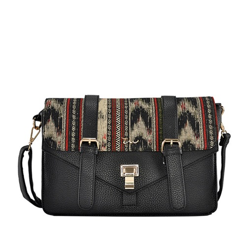 Terrific Color Block Women Crossbody Bag