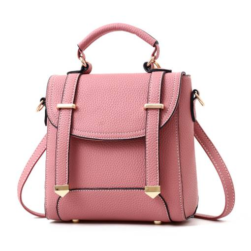 Preppy Chic Solid Color Women Backpack
