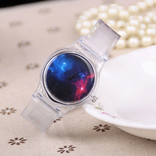 Starry Sky Quartz Analogue Display Watches
