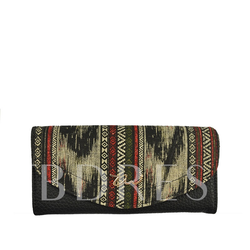Casual Prints Design Women Wallet