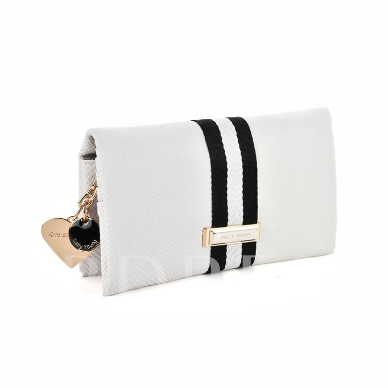 Chic Color Block Women Tote Bag