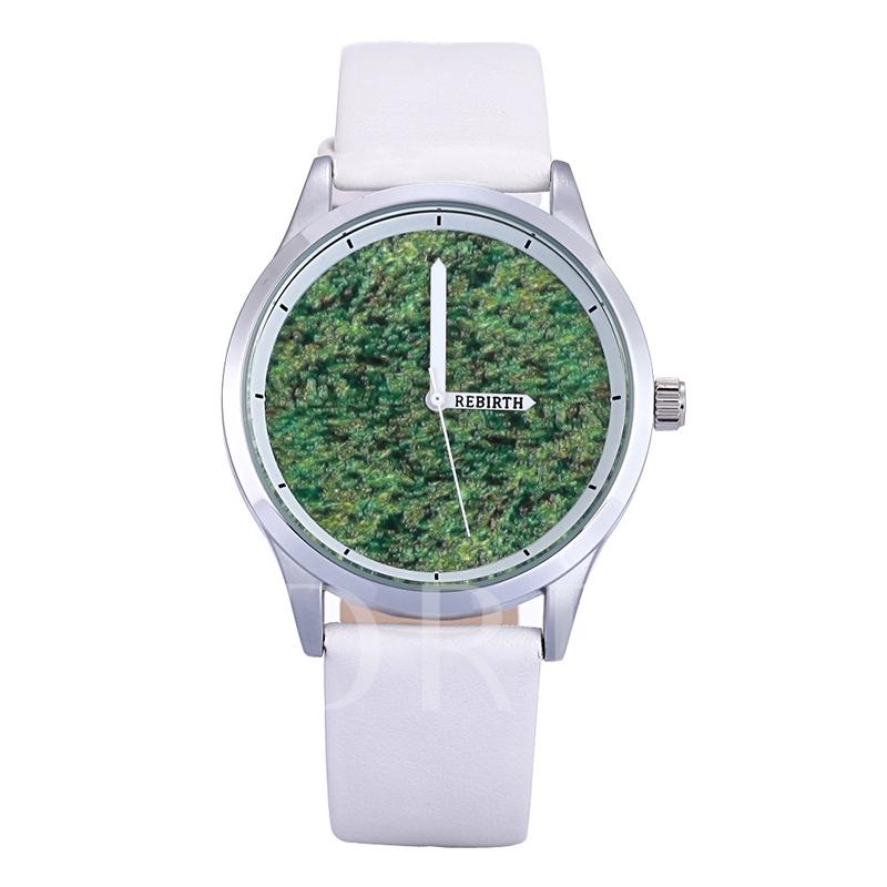 Grass Pattern Analogue Display Watches