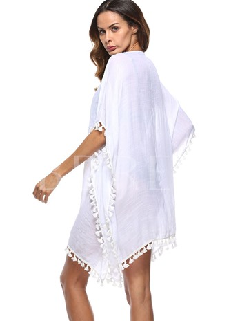 Loose Hollow Women's Beach Dress