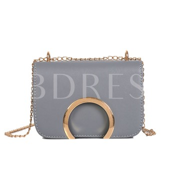Luxury Style Solid Color Women Crossbody Bag