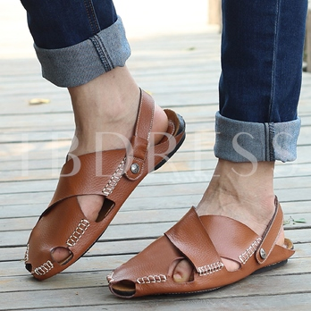Sewing Dual-Use Shoes Seaside Sandals for Men