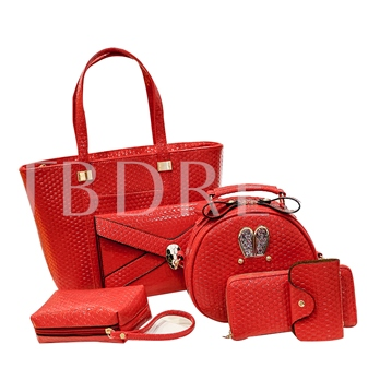 Intence Color PU Bag Set
