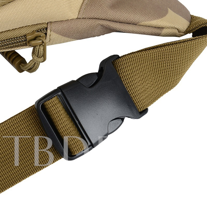 Chic Camouflage Pattern Nylon Men's Waist Pack