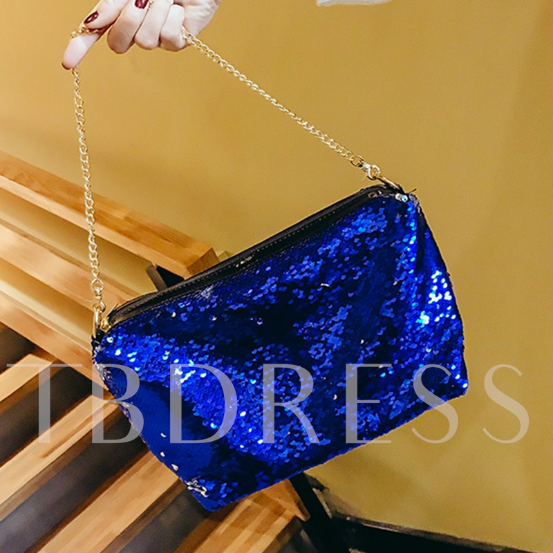 Colorful Sequins polyester Shoulder Bag