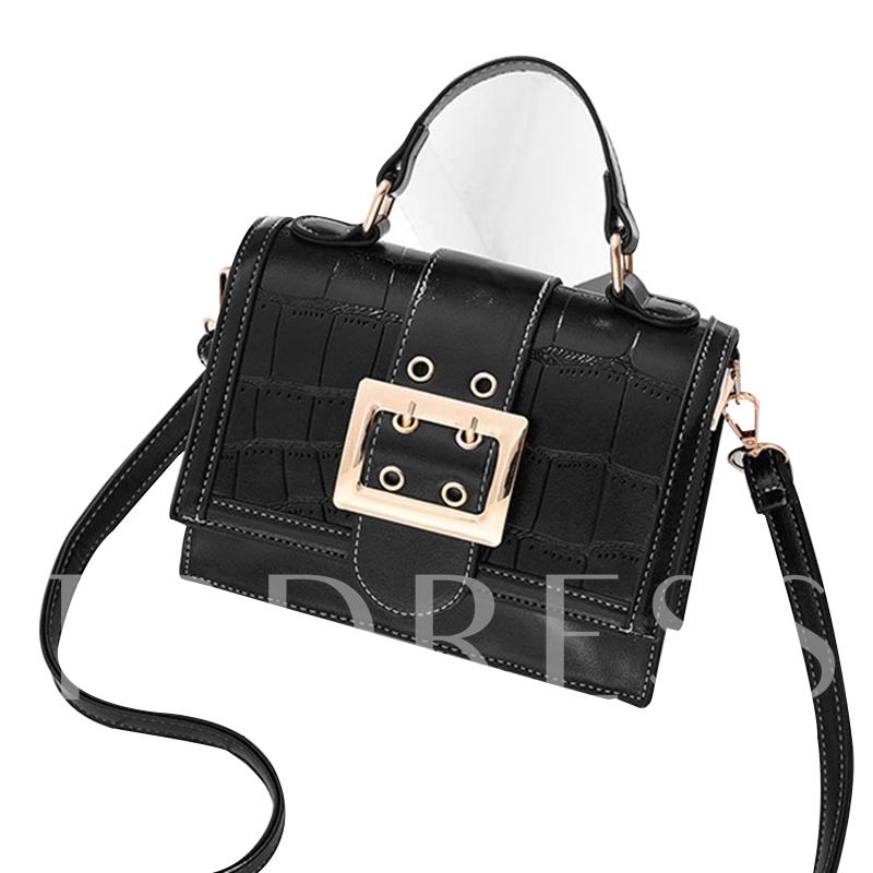 Terrific Belt Decorated Cross Body Bag