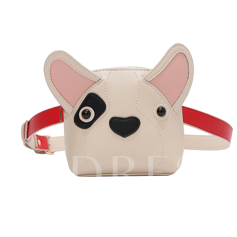 Lovley Cartoon Animal Shape Mini Crossbody Bag