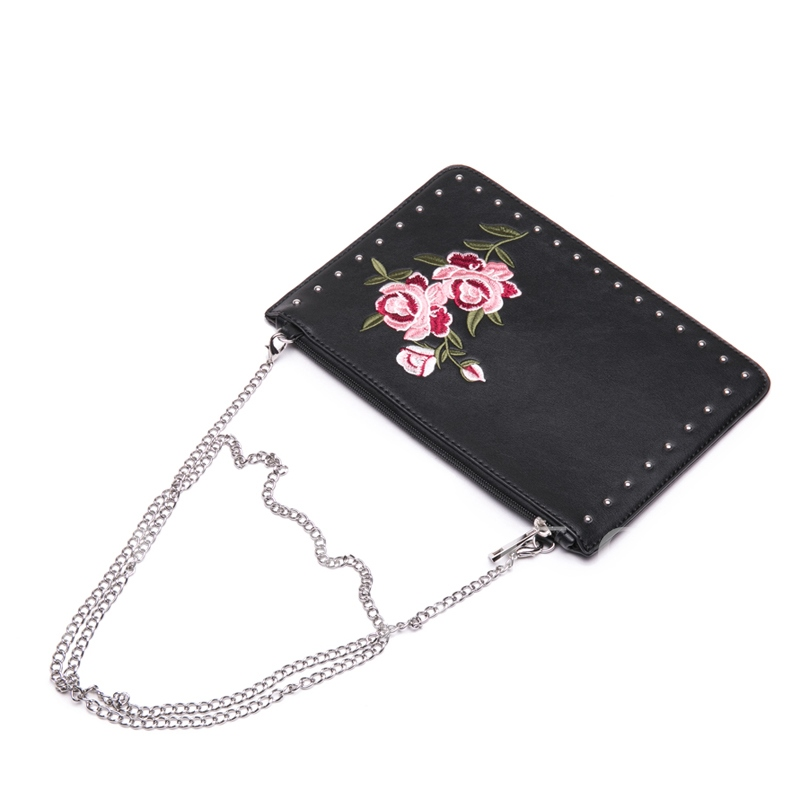 Chinese Style Embroidery Chain Crossbody Bag