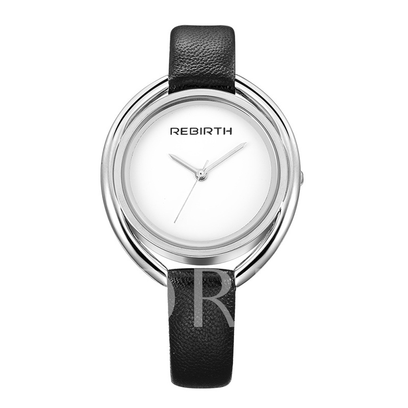 Analogue Display Smooth Quartz Watches