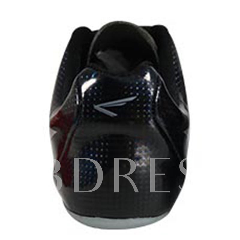 Lace Up Print Spike Track Shoes for Men