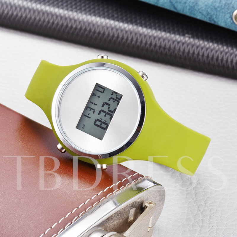 Candy Color Digital Display Watches