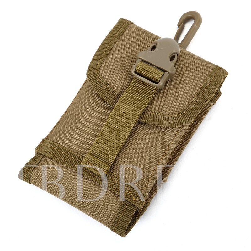 Camouflage Pattern Soft Nylon Men's Bag