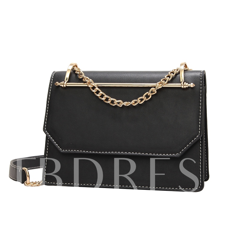 Color Block Chain Mini Crossbody Bag