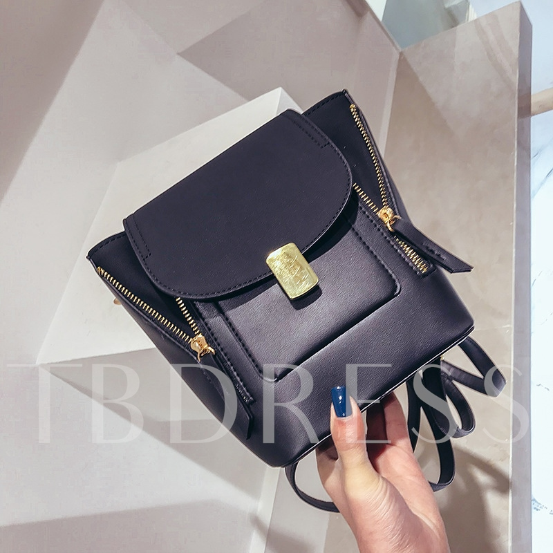 Vogue Solid Color Cross Body Bag