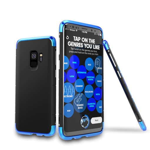 Samsung s9 Mobile Phone Shell All-inclusive Shatter-resistant Personality Creative Protective Cover