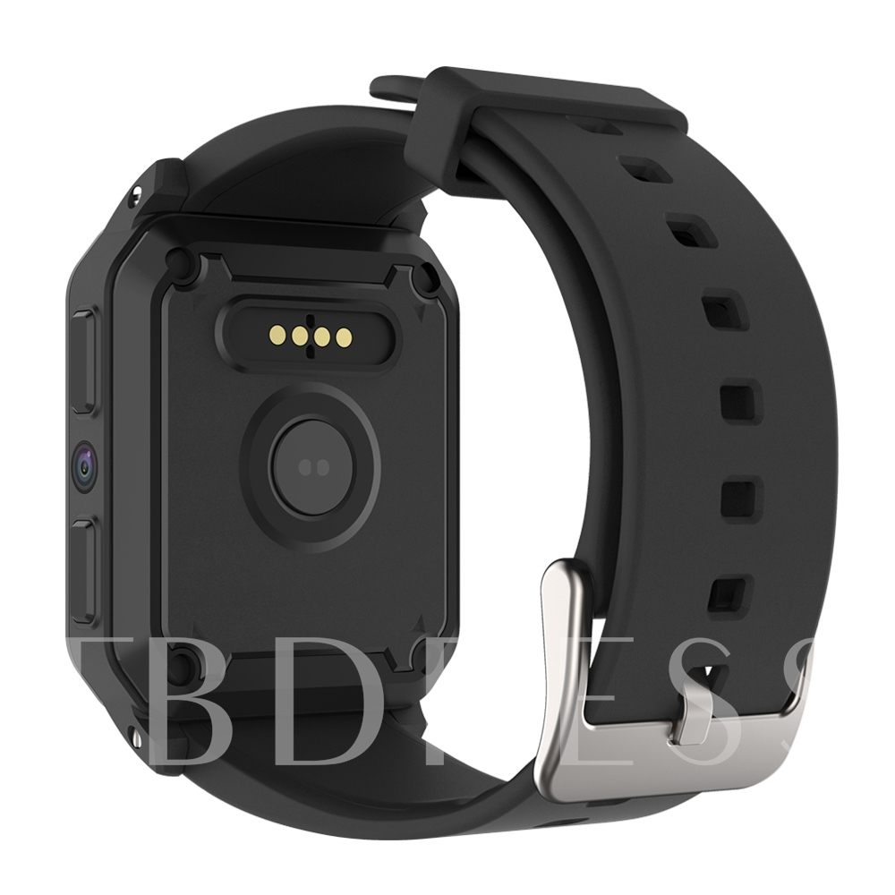 KW06 Smart Watch Waterproof Square Screen GPS Support Android 3g 512+8GB