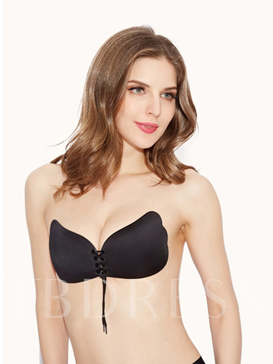 Seamless Front Lace-Up Strapless Sexy Nipple Cover