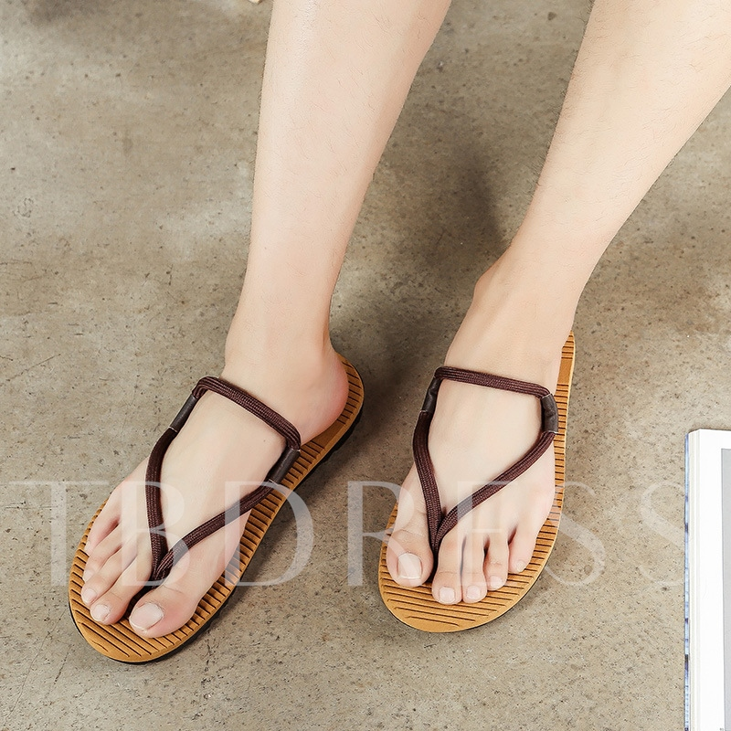 Dual-Use Shoes Men's Thong Sandals