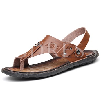 Toe Ring Dual-Use Sandals for Men