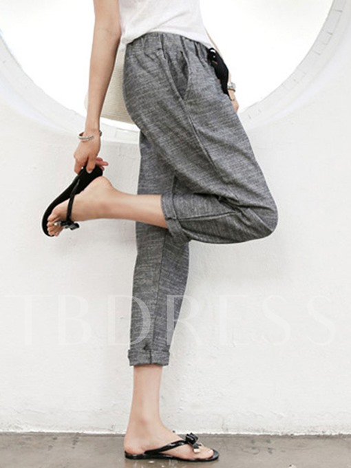 Ankle Length High Waist Women's Harem Pants