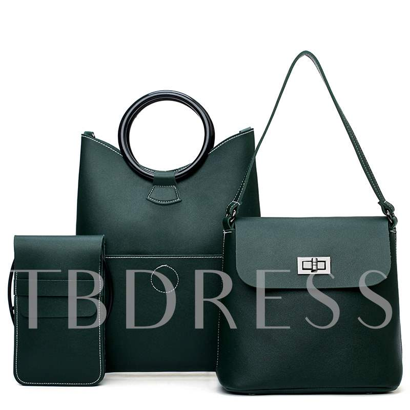 Occident Style PU Contracted Bag Set