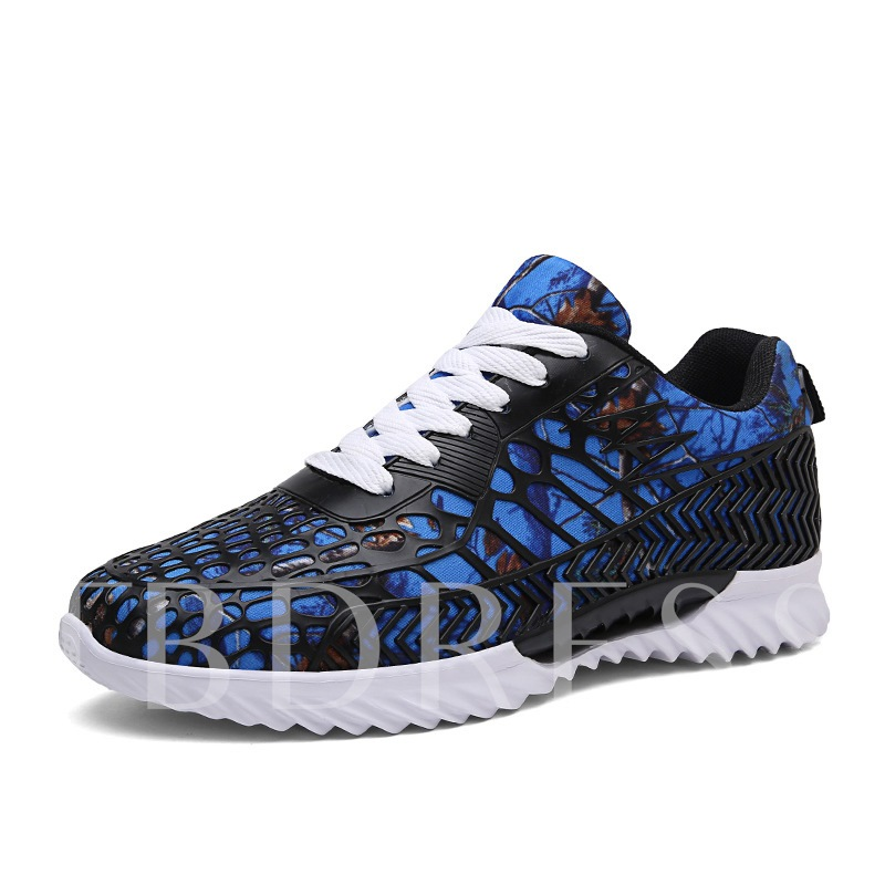 Printing Pattern Patchwork Men's Fashion Sneakers
