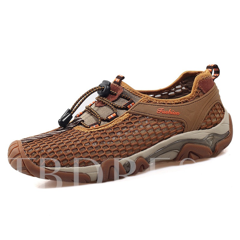 Mesh Hollow Breathable Shoes Skidproof Walking Shoes