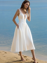 Sleeveless Trumpet Summer Women's Day Dress